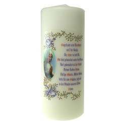 Candle 200 X 80 mm  White...