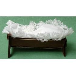 Cradle 10 Cm Wood