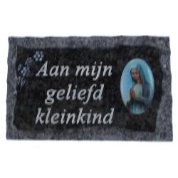 Plate of cemeteries Aan...
