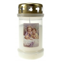 Candle 3D / CD / white /...