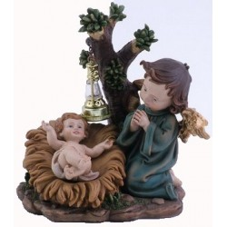 Child Jesus  Angel  14 X 12...