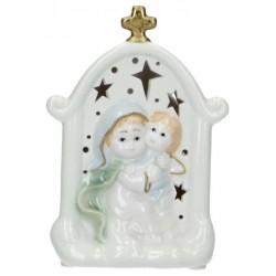 Vierge et enfant en...