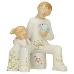 Father And Child 11 Cm