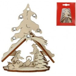 nativity Wooden Box With...