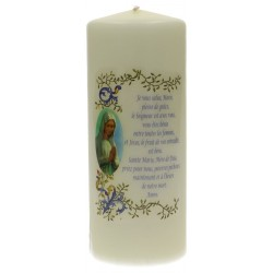 Candle 200 X 80 Hail Mary...