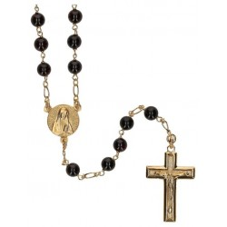 Rosary gold plated Garnet 6...