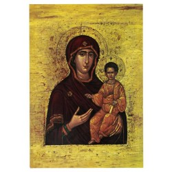 Postcard Virgin And Child