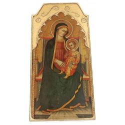 Retable De La Vierge Et...