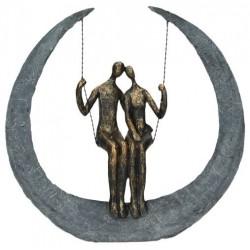 Statue balancoire 30 cm