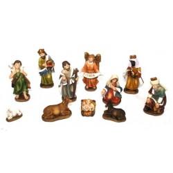 Christmas crib figures...