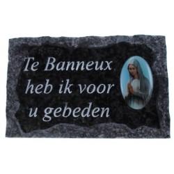 Plaque Cimetiere Te Banneux...