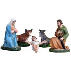Nativity set of 5 pieces 20...