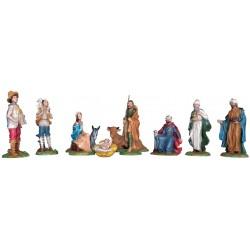 Nativity set of 10 pieces...