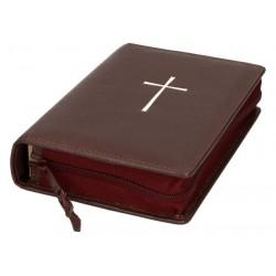 Couverture Cuir Bord Bible Jerusalem + Ptp Moy Fmt